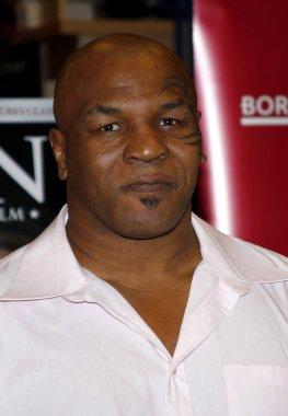 Athlete Mike Tyson