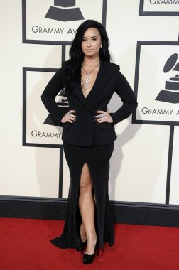 Singer and actress Demi Lovato