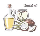 Fotografie coconat essential oils