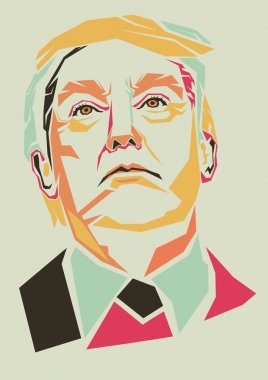 Donald Trump vector