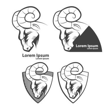 ram logo sport