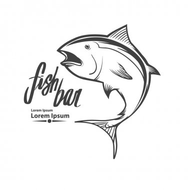 tuna fishing logo