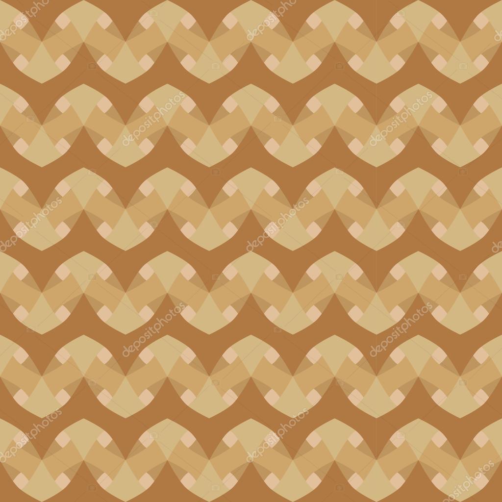 Geometrische Muster Mit Grün Beige Und Braun Dekorationen U2014 Stockvektor