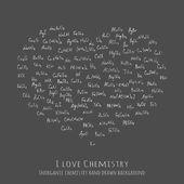 Fotografie handwritten chemical formulas