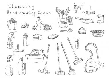 Cleaning symbols and tools