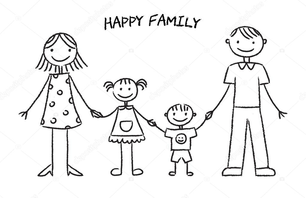 Simple requirements for a happy family