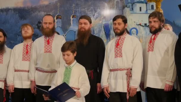 Men at Holy Mountains Lavra Christmas Celebration Men With Beards ...