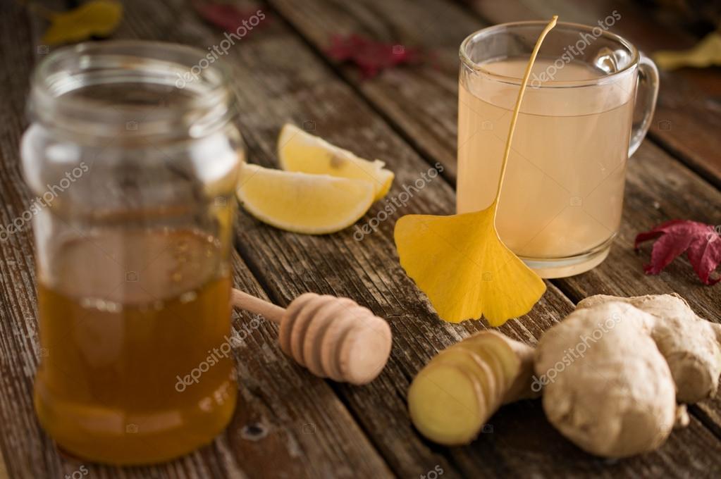 ingefära citron förkylning