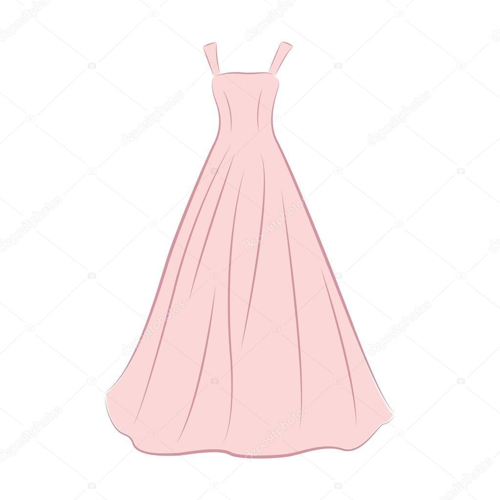 e394bd508883d Benzer Telifsiz Vektörler: Mükemmel düğün süslemeleri düğün elbise çizimi  ...