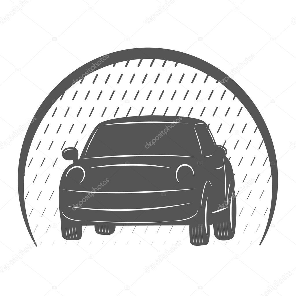 logotipo de lavado de coches — Fotos de Stock © Siberica #93305234