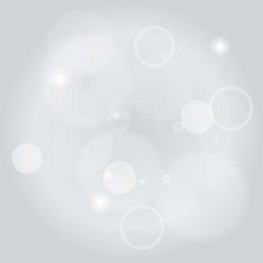 Sparkle circles abstract vector background illustration. Abstract shiny glitters, Light gray texture with round elements. Monochrome backdrop.