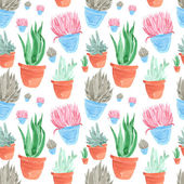 Fotografie seamless pattern , consisting of a hand-drawn elements of the pl