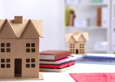 Designer shows a model of a new home
