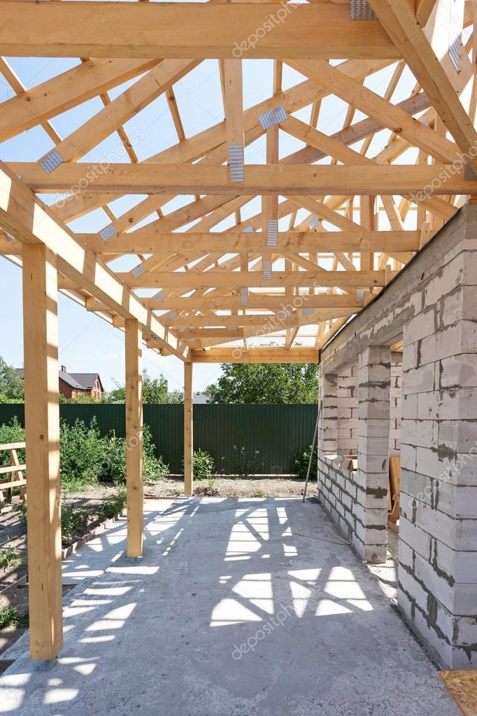 Fotos casas de bloques de hormigon edificio casa de bloques de hormig n celular autoclavados - Estructura casa madera ...