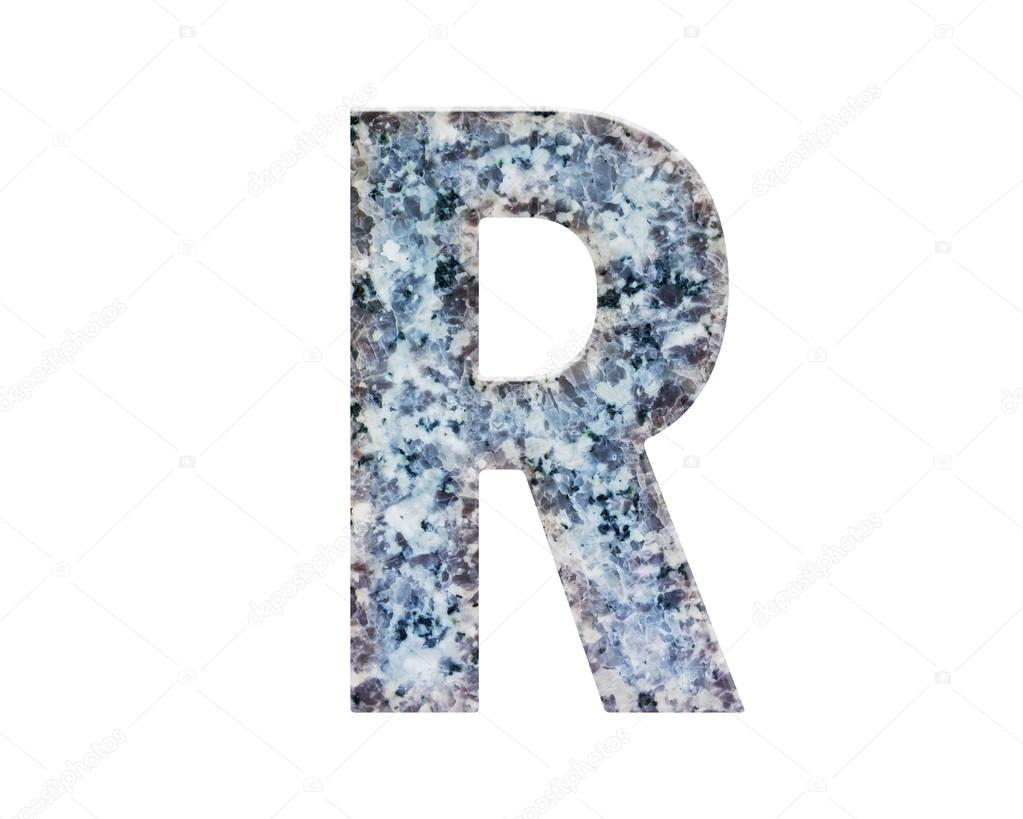 CLASSIC And Beautiful FONT Or LETTER Colour Design Of ALPHABET R In Natural Marble Texture Style Photo By KAZITAFAHNIZEER