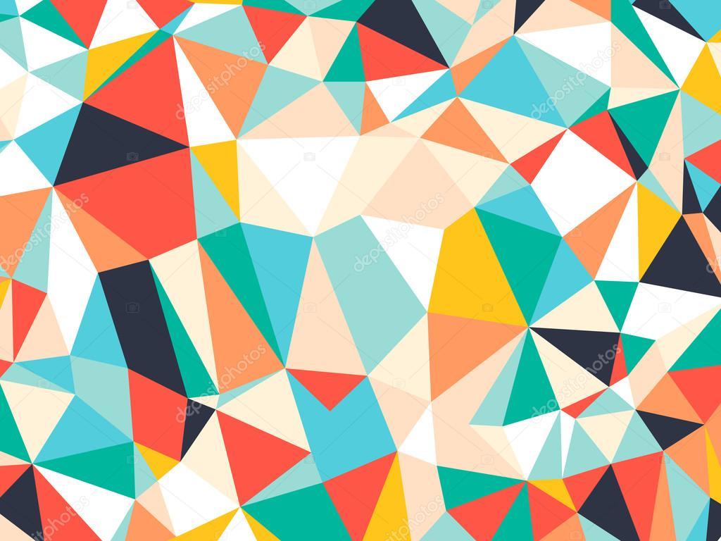 Fondo Geométrico: Resumen Fondo Geométrico Triángulo