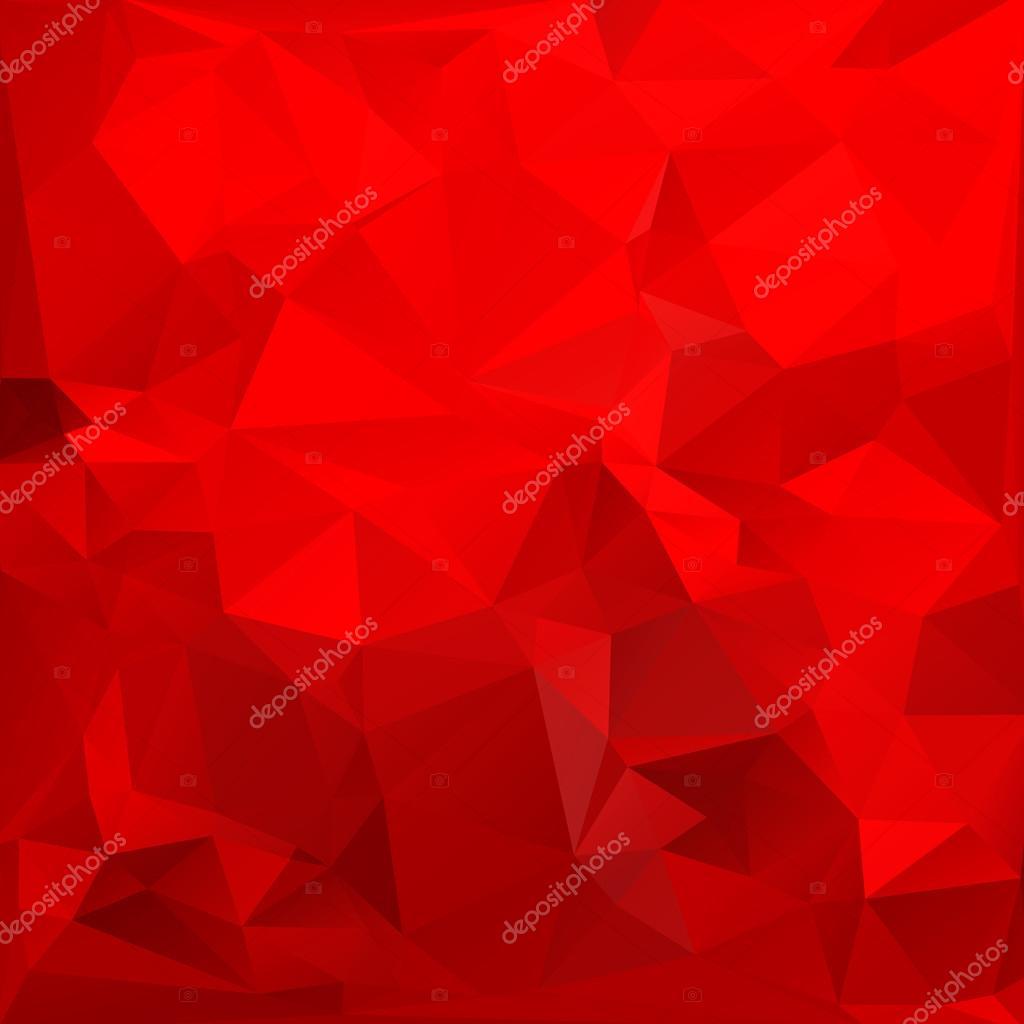 Fondo de triángulo rojo. Colorido brillante triángulo polígono fondo ...