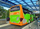 Reisebus von meinfernbus flixbus in Chemnitz