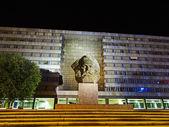 Fotografie Karl-Marx-Monument in Chemnitz (Deutschland)