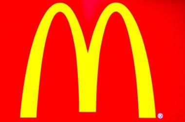 McDonald's Company Logo - Stock Photo