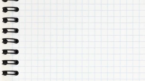 Üres jegyzetfüzet