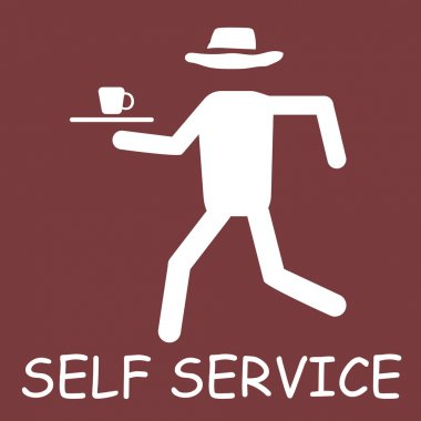 self service label