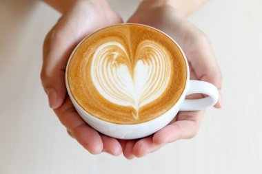 Serve coffee for you with love