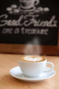 Good friends and good coffee
