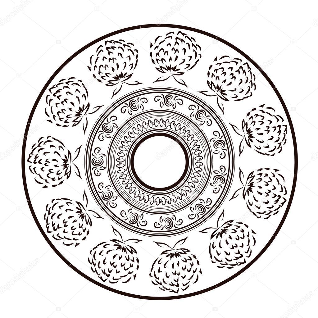 Ornament im Stil einer Skizze — Stockvektor © D.Mero #83580968