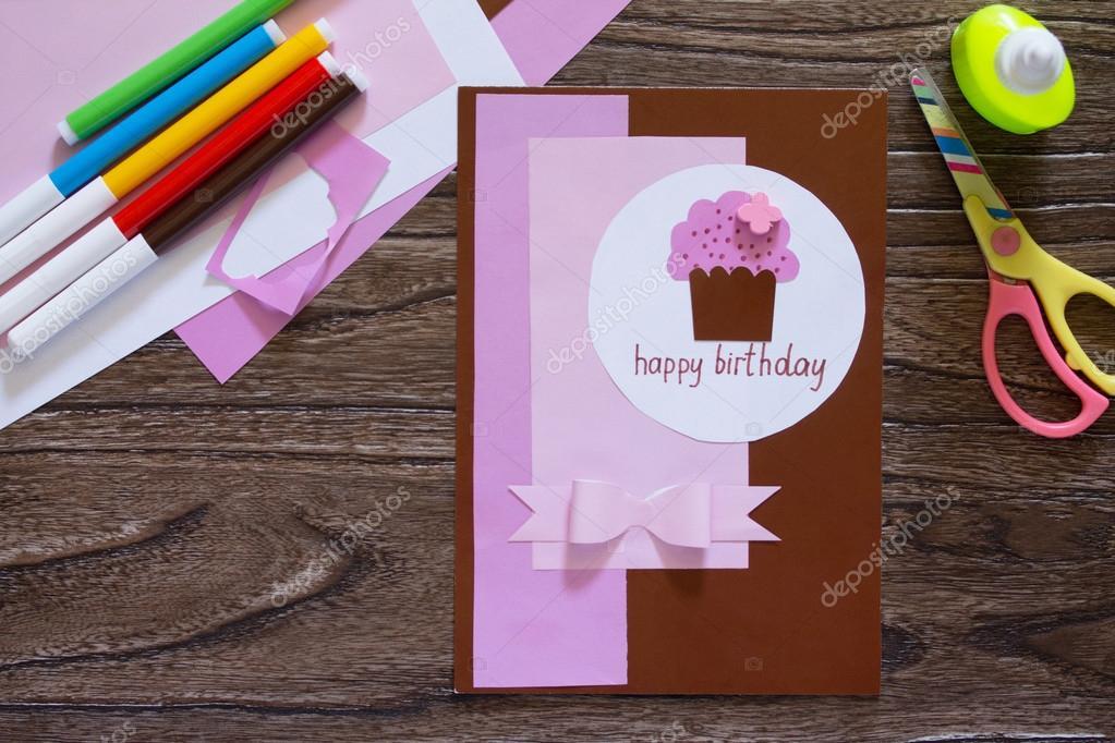 Poważnie Kartki ręcznie robione urodziny napis jest to, że na jego urodzin JH69