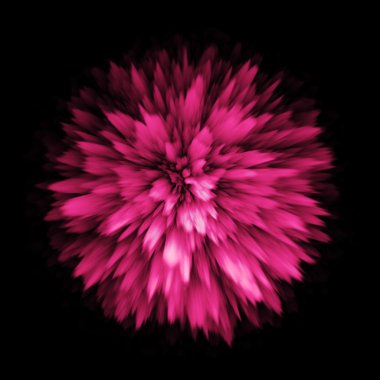 Color dust splash blast outburst explosion.