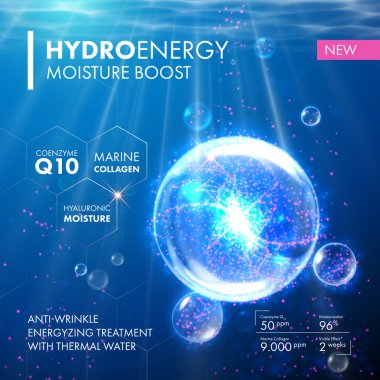 Hydro Energy Coenzyme Q10 moisture molecula bubble drop