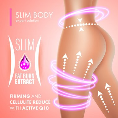 Cellulite bodycare skin firming solution design
