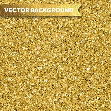 Gold glitter texture
