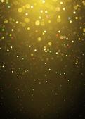 Rozostření pozadí světla třpytky zlatým jiskření