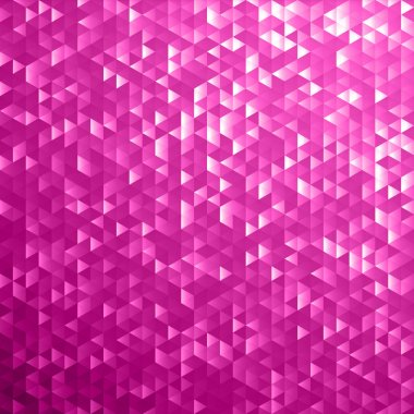 Pink shimmer sequins mosaic background