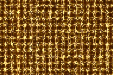 Gold seamless shimmer sequins background