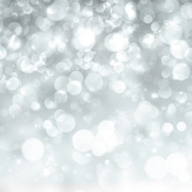 Defocused abstract background of lights