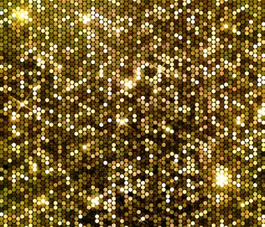 Gold sparkle glitter sequins background