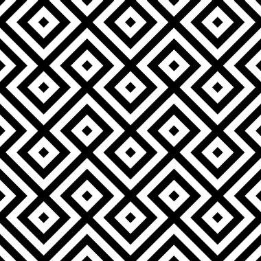 Vector geometric seamless pattern background.