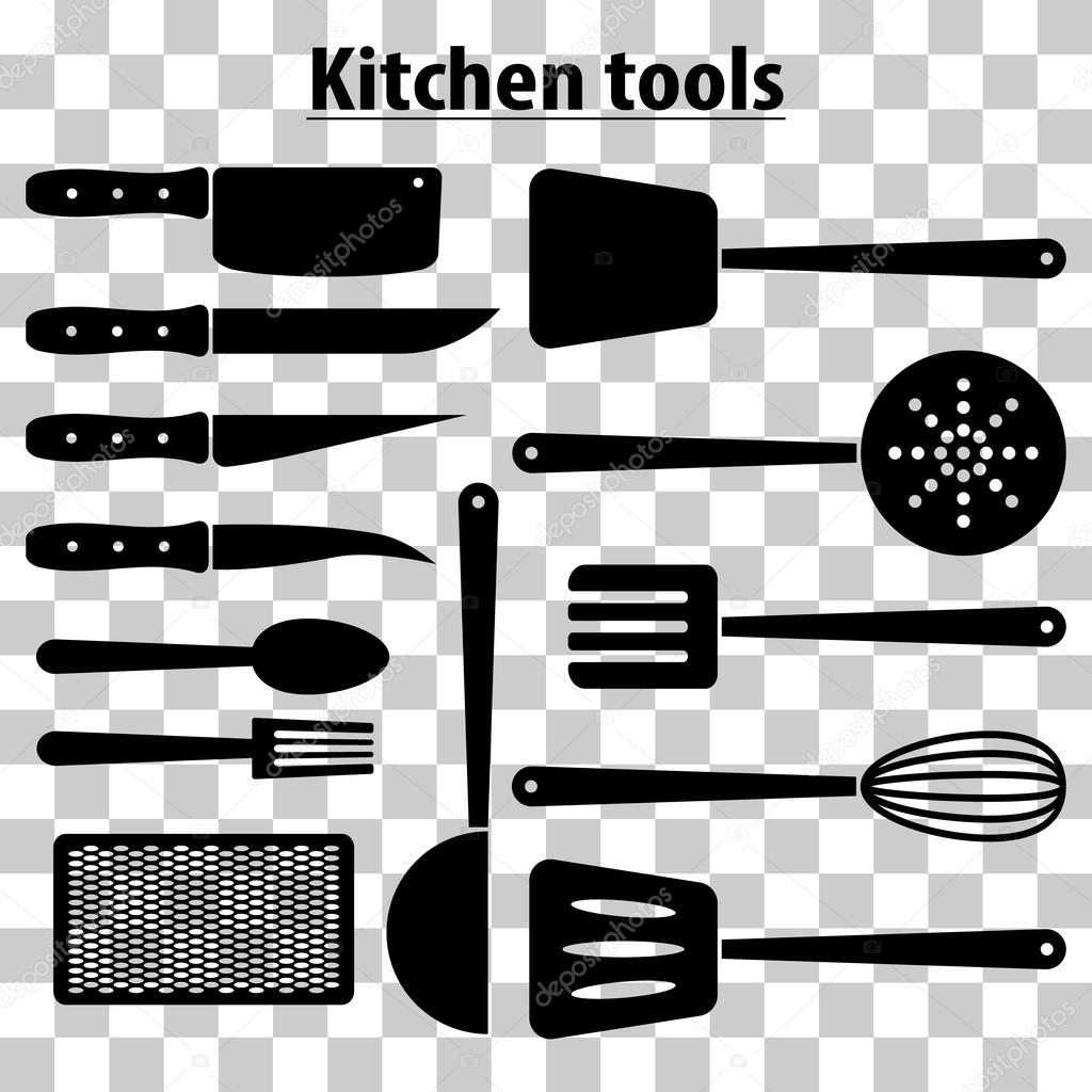 Set kitchen tools