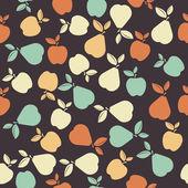 Bezešvé vzor s barevnými plody