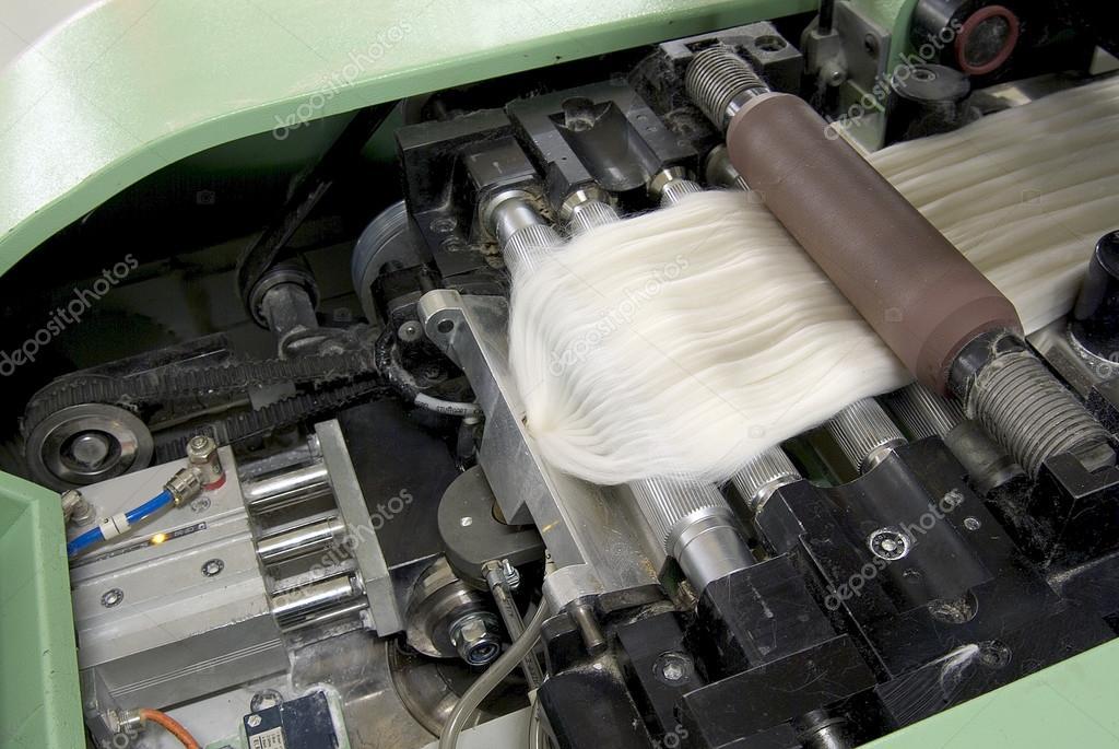 Baumwoll Spinnerei Maschine insbesondere — Stockfoto © antoniotruzzi ...