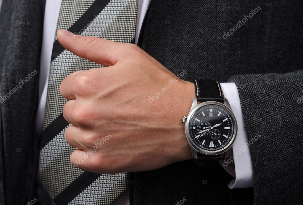 mejor amado gama muy codiciada de mejor Reloj y pulsera en la misma mano hombre   reloj de pulsera ...