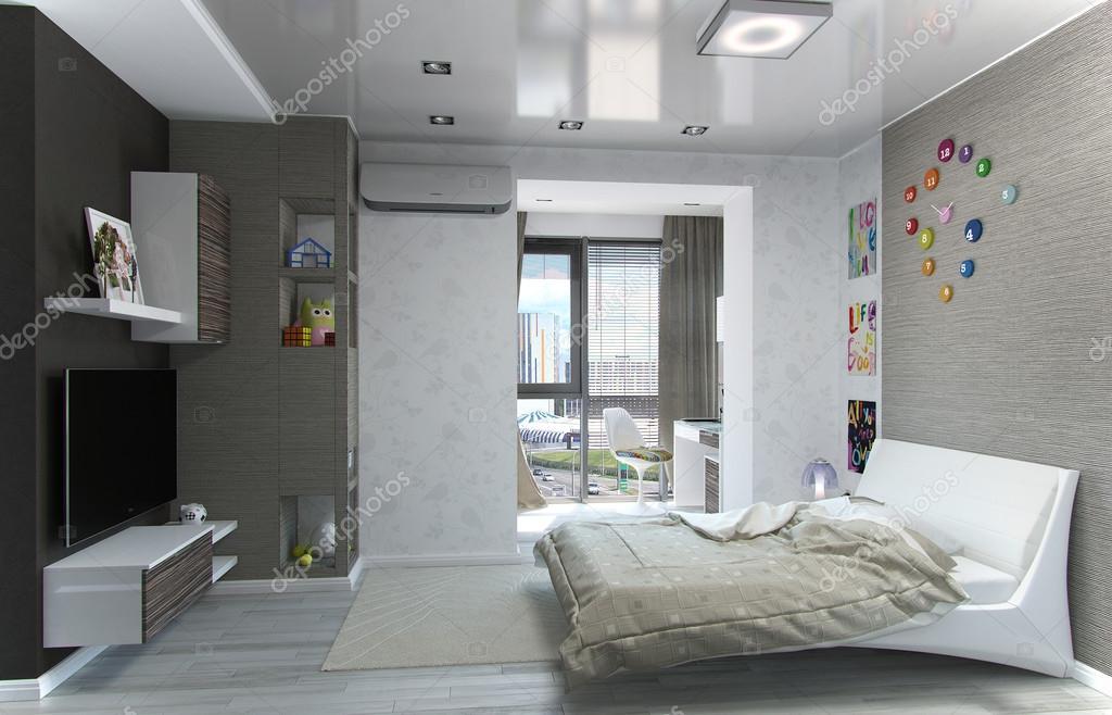 moderne interieur ideen 3d visualisatie van interieur voor kinderen kamer foto van threedicube