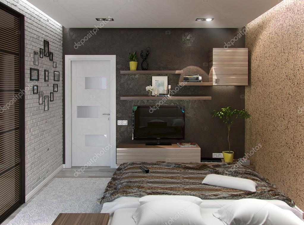 moderne interieur ideen 3d visualisatie van interieur ontwerp van de slaapkamer foto van threedicube