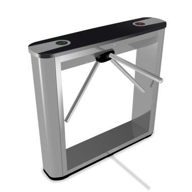 Box tripod turnstile