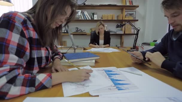 Two promising young person, their practice of financial affairs at a steep shark expert