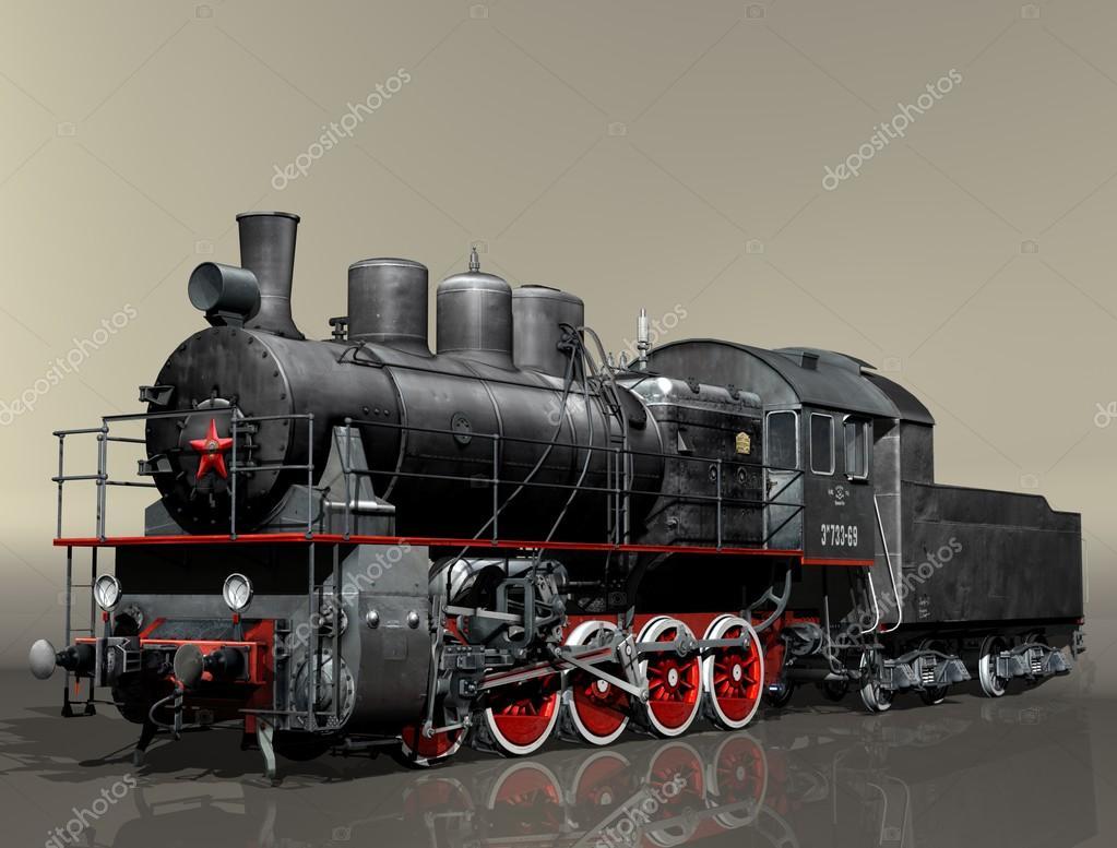 Steam locomotive Em — Stock Photo © Urecky #78922108