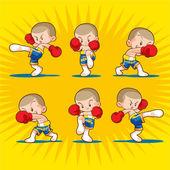 Photo Muaythai boxing kids